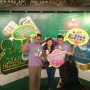 Duta Yeo's - dari kiri Blogger Ben Ashaari, KeQing dan Fayse Goh