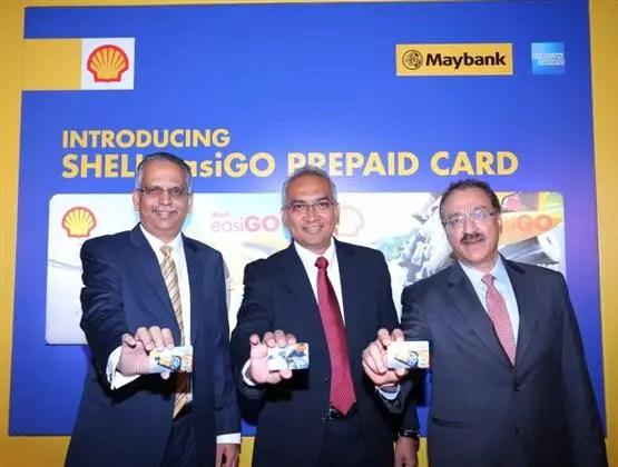 wakil dari Shell, Maybank dan American Express