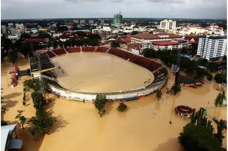 banjir di kota bharu