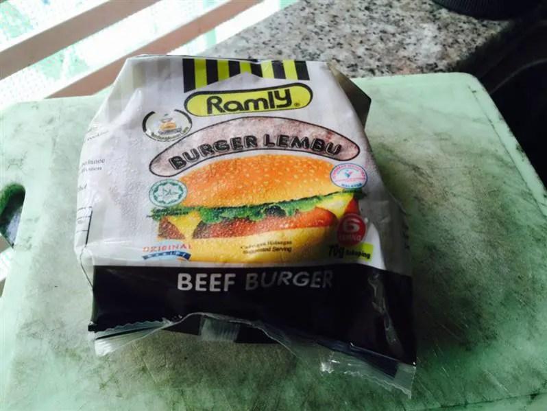 Daging Burger Ramly