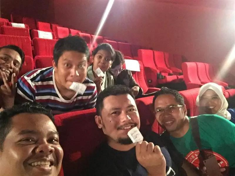 Antara bloggers yang hadir