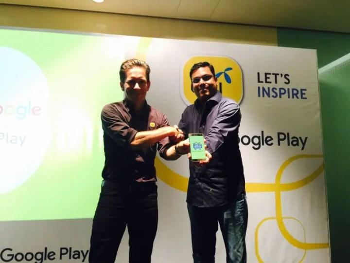 Kerjasama strategik Digi dan Google Malaysia