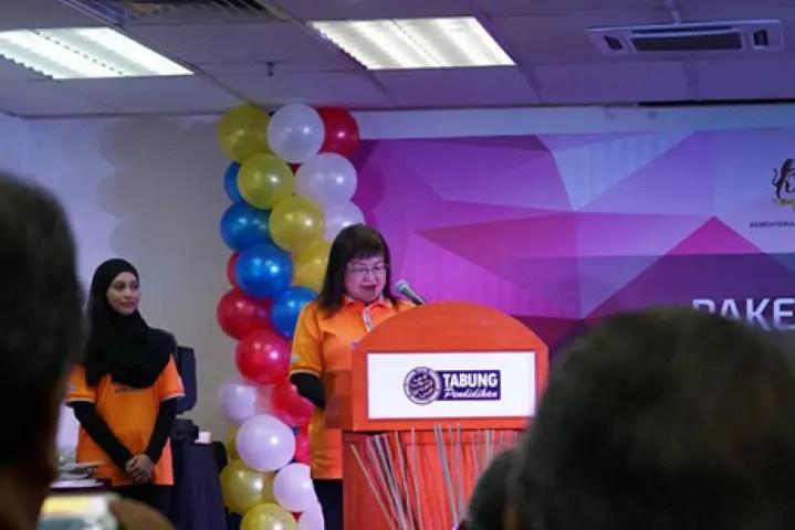 YB Datuk Mary Yap Kain Ching, Timbalan Menteri Pendidikan Pengajian Tinggi. (foto: Ben Ashaari)