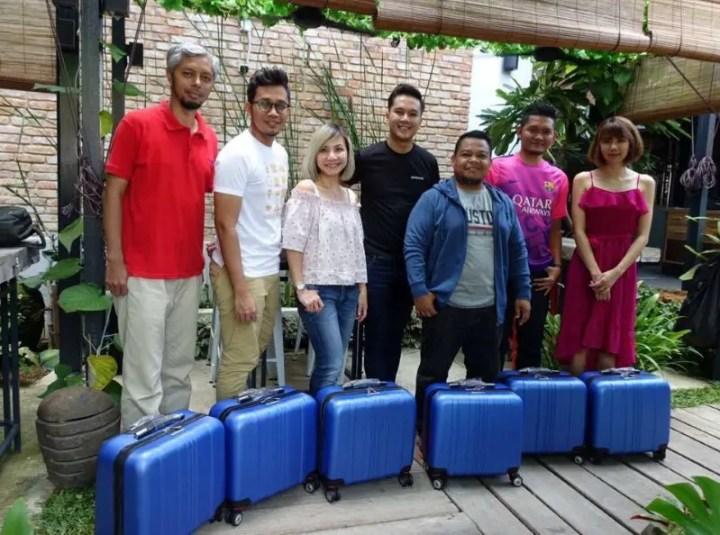 antara bloggers yang menyertai honda trip ke Melaka yang juga pemenang dalam aktivity yang dianjurkan