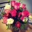 Beautiful birthday flowers from my wonderful dad!!