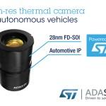 AdaSky's Far Infrared for ADAS on ST's FD-SOI