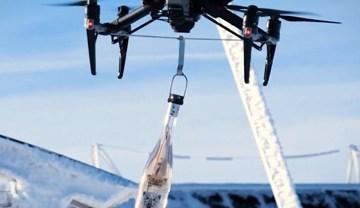 Livraison de rosé par drone