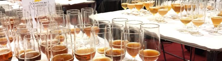 Verre de dégustations de Bières pour les jurys du concours générale agricole 2019