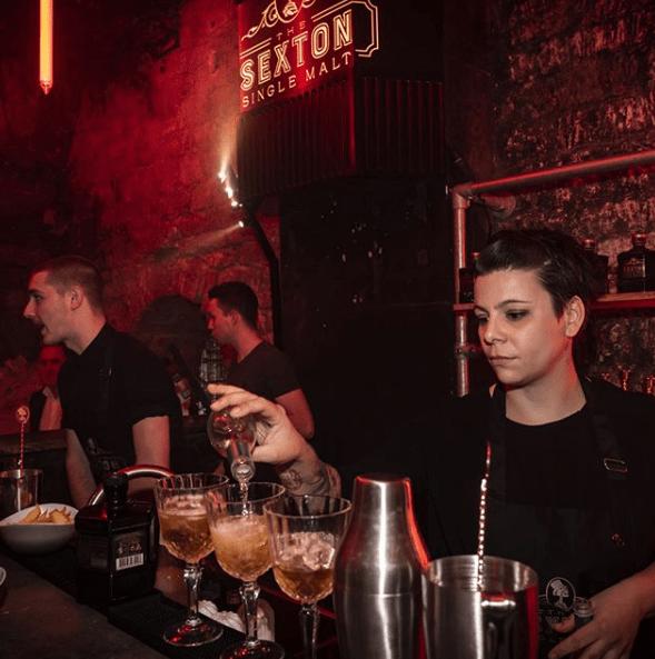 Photo de l'équipe de la soirée Sexton au Chapelais de Paris