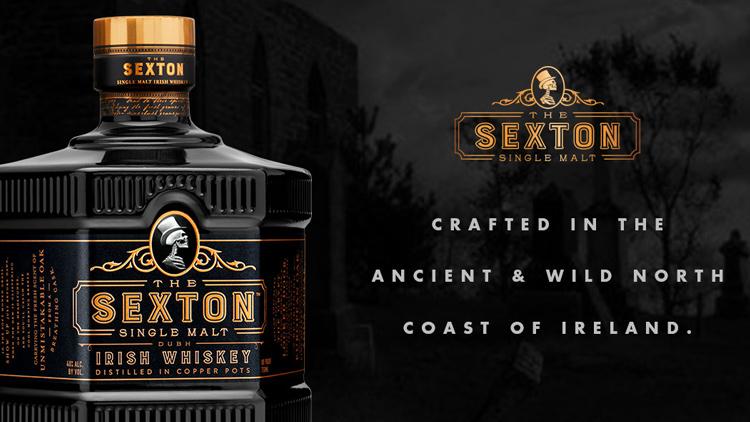 Découvrez le Wisky Sexton - Créé dans l'ancienne et sauvage cote du Nord d'irelande -