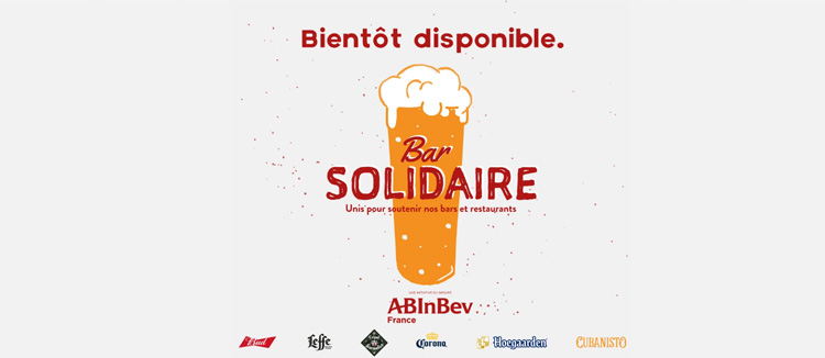 Plateforme Bar Solidaire de AB INBEV France