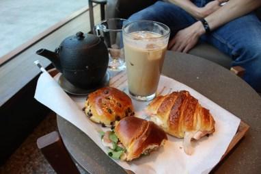Petit déjeuner au Starbucks Reservoir