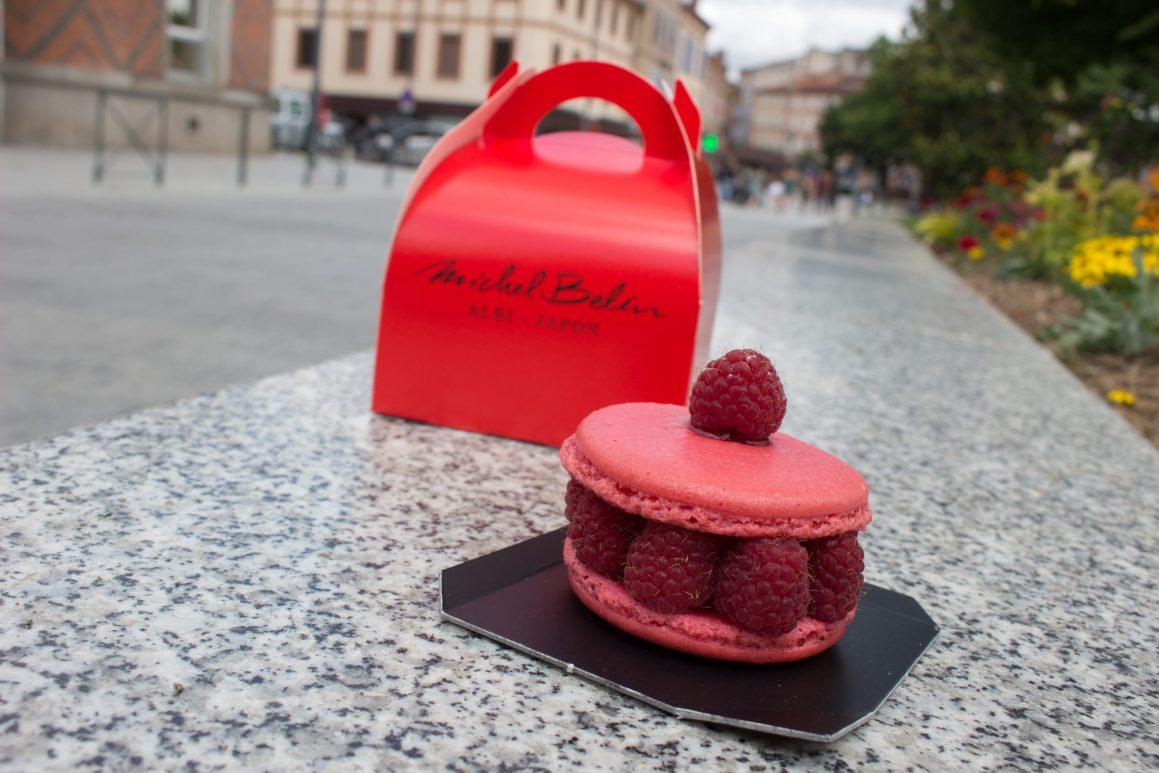 Macaron framboise Michel Belin Albi