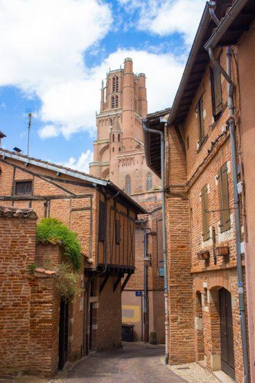 Rue la Croix Blanche Albi