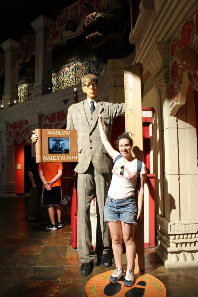 PS : je mesure 1,76m – Ripley's Museum