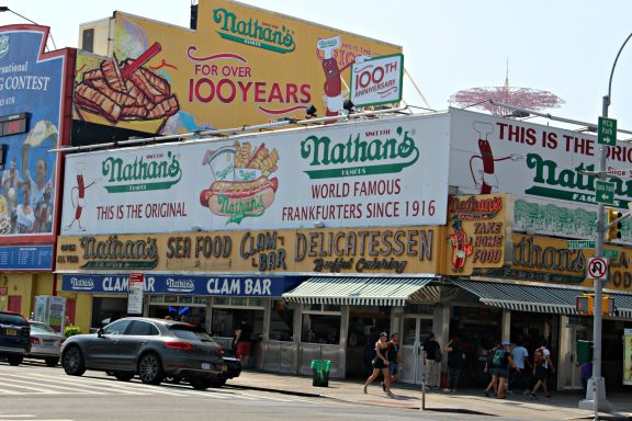 Nathan's Famous NYC