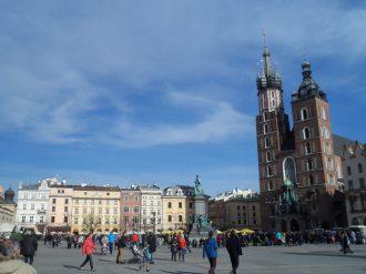 Place du marché central de Cracovie