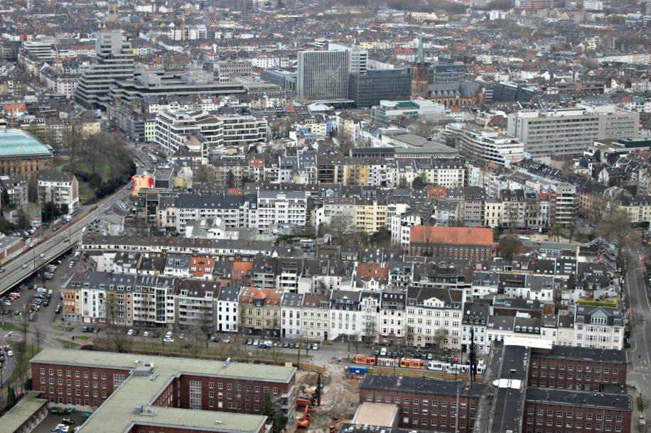 Vue depuis la Rheinturm