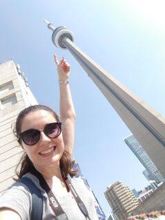 Tout en bas de la CN Tower