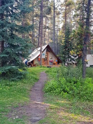Les tentes Huttopia prêt à camper