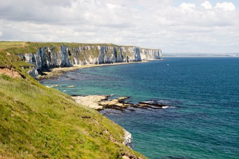 Falaises de Flamborough / Flamborough cliffs