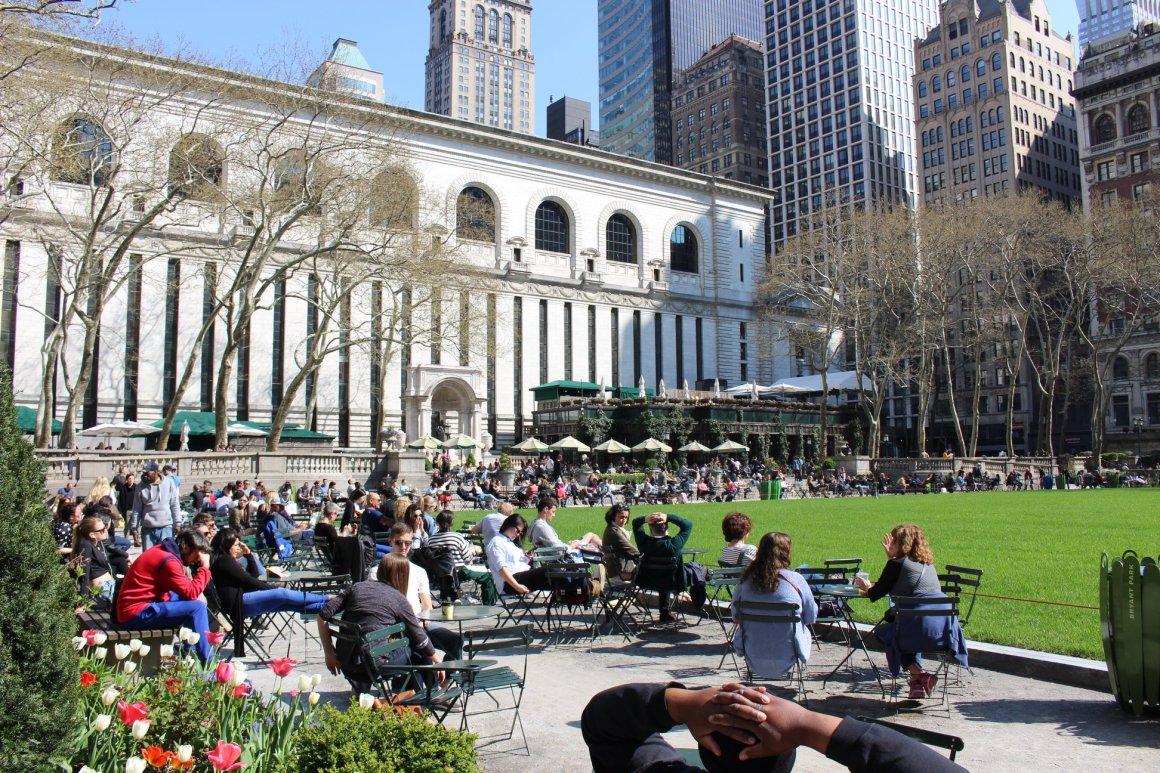Bryant Park et NYC Public Library