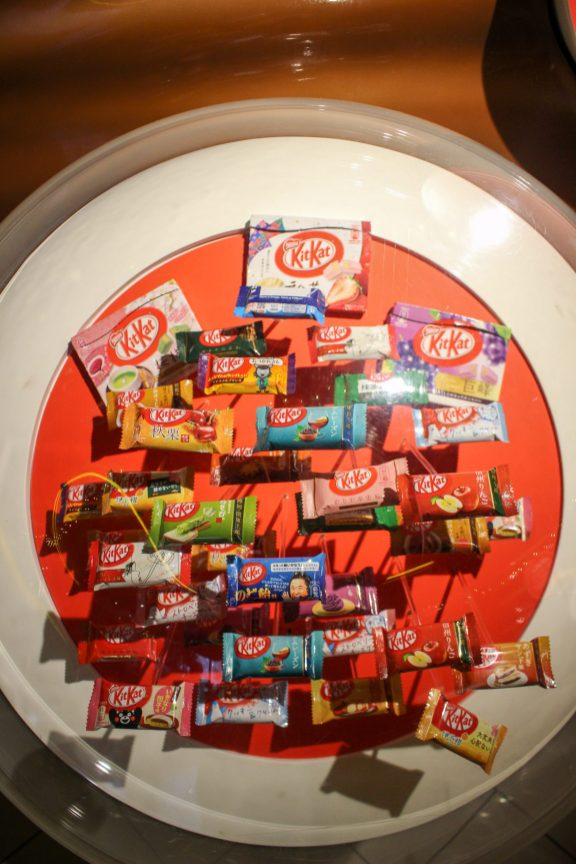 Kit kat variés au York's chocolate Story