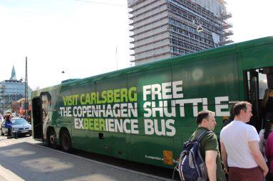 Navette Carlsberg Copenhague