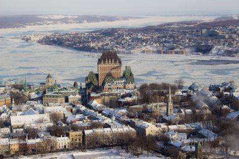 Québec vu depuis l'Observatoire de la capitale