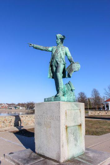 Statue Rochambeau Newport