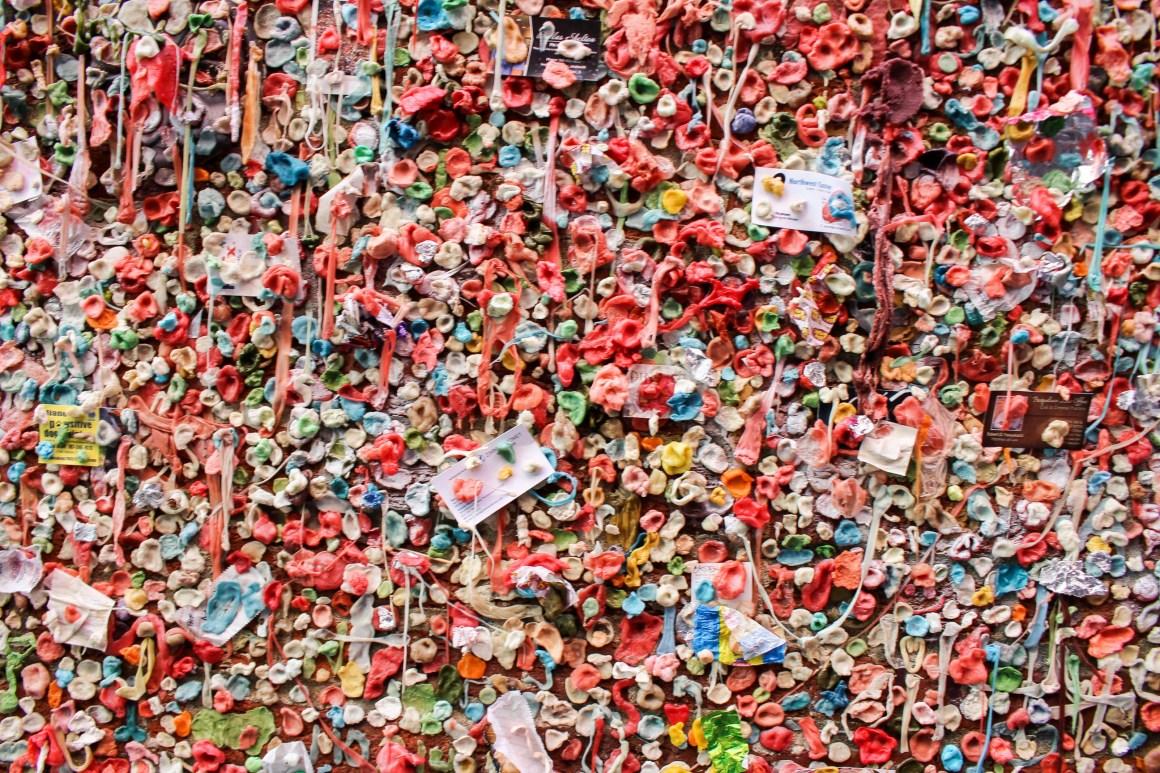 Mur de chewing gum Seattle