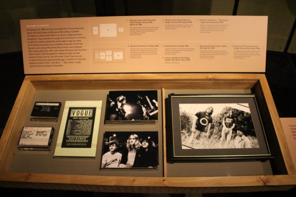 """Exposition Museum of Pop Culture """"Nirvana Taking punk to Masses"""""""