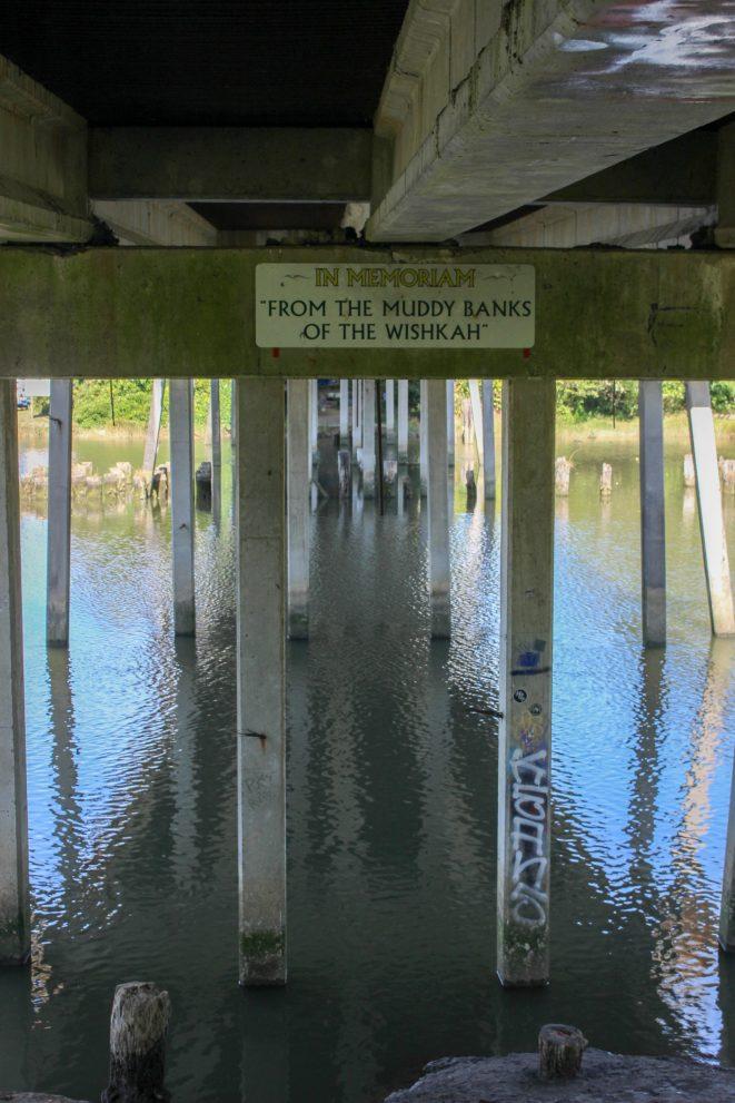 Sous le pont du Kurt Cobain Memorial Park