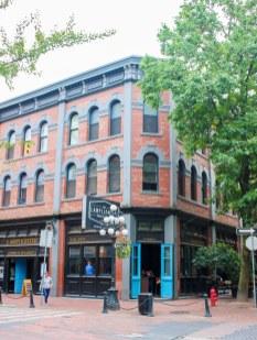 Quartier de Gastown à Vancouver