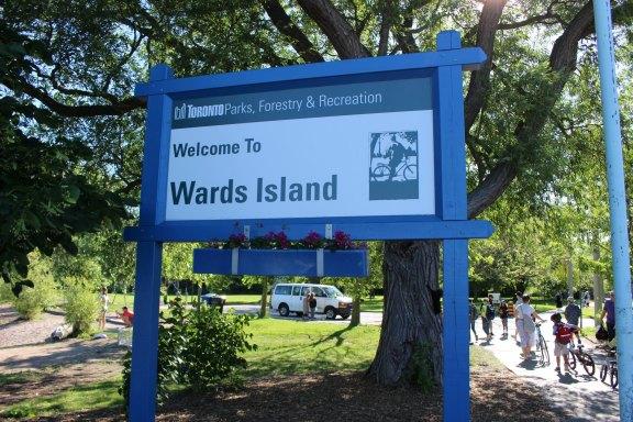 Bienvenue à Ward's Island