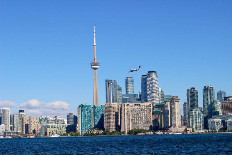 Toronto vu depuis les Toronto Islands