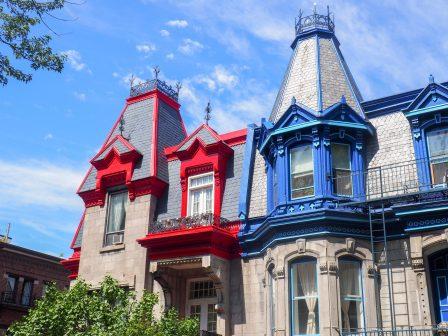 Carré St Louis Montréal