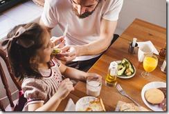 repas serein en famille