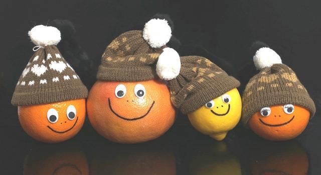 agrumes pour l'hiver