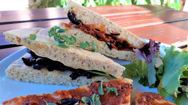 sandwich sans gluten tomate séchée