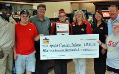 Casey's General Stores and Coca-Cola Raise More Than $57,000 in Support of Special Olympics Indiana
