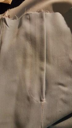 Pantalon safran-Braquette