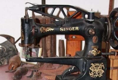Aho's sewing machine
