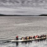 Sointula Dragonboaters in Broughton Strait