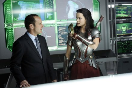 Coulson and Lady Sif