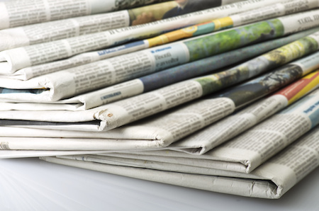 Pile-of-newspapers