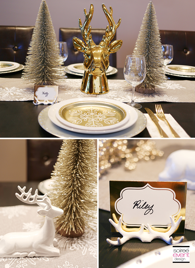 How To Style Your Holiday Dining Table 3 Ways Soiree