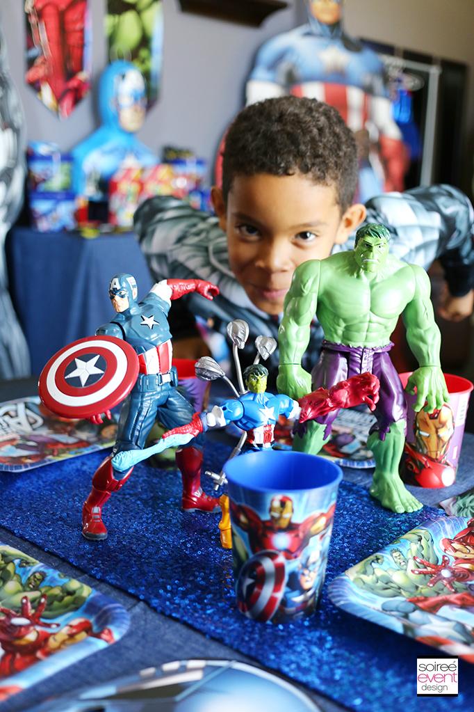 Marvel Avengers Party Ideas Soiree Event Design