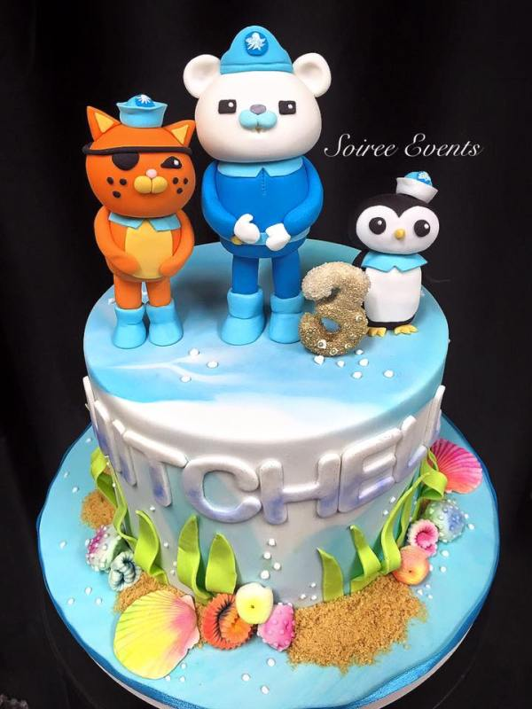 octonauts cake for mitchel