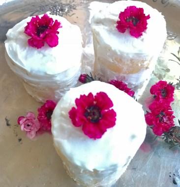 Mini Naked Butter Cakes